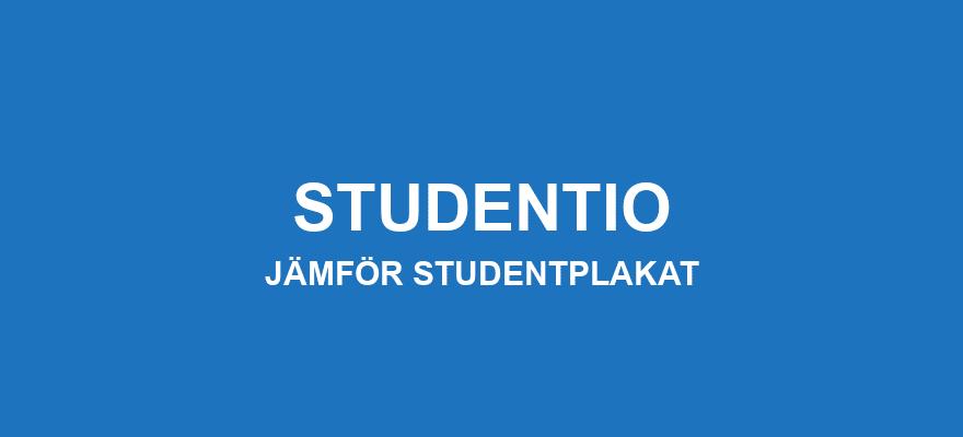 Jämför studentplakat