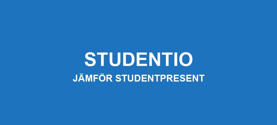 Jämför studentpresent