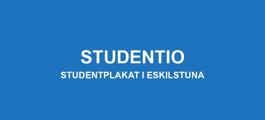 Studentplakat Eskilstuna