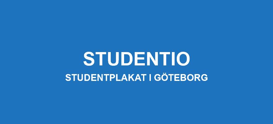 Studentplakat Göteborg