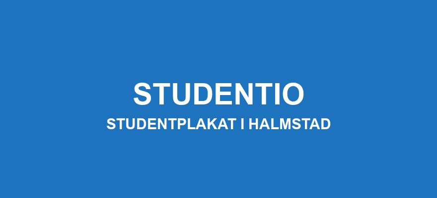 Studentplakat Halmstad