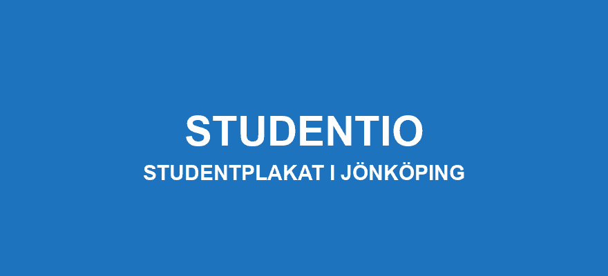 Studentplakat Jönköping