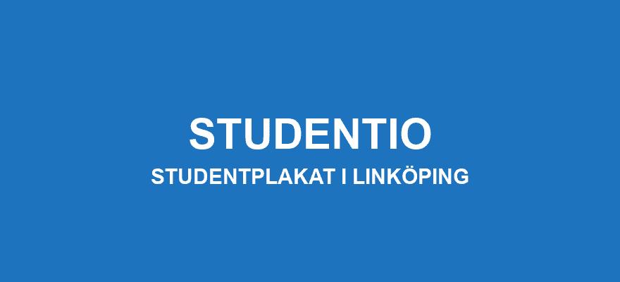 Studentplakat Linköping