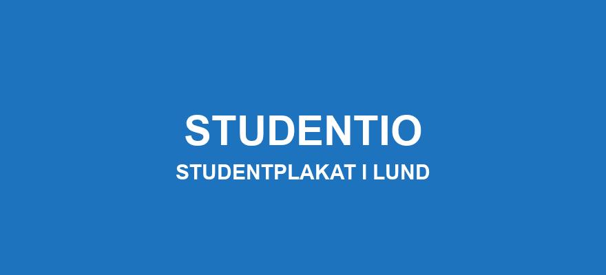 Studentplakat Lund