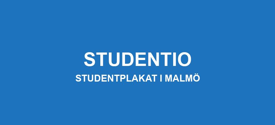 Studentplakat Malmö