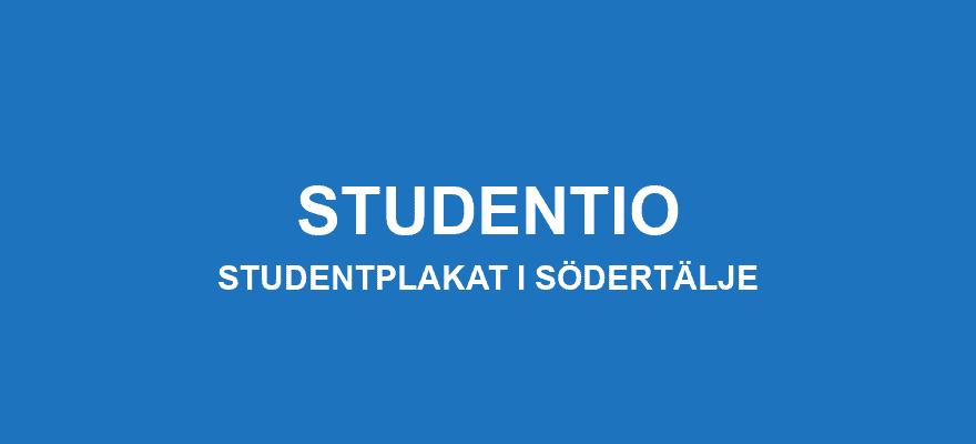 Studentplakat Södertälje