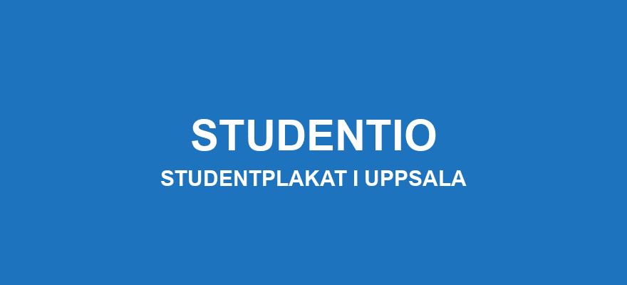 Studentplakat Uppsala