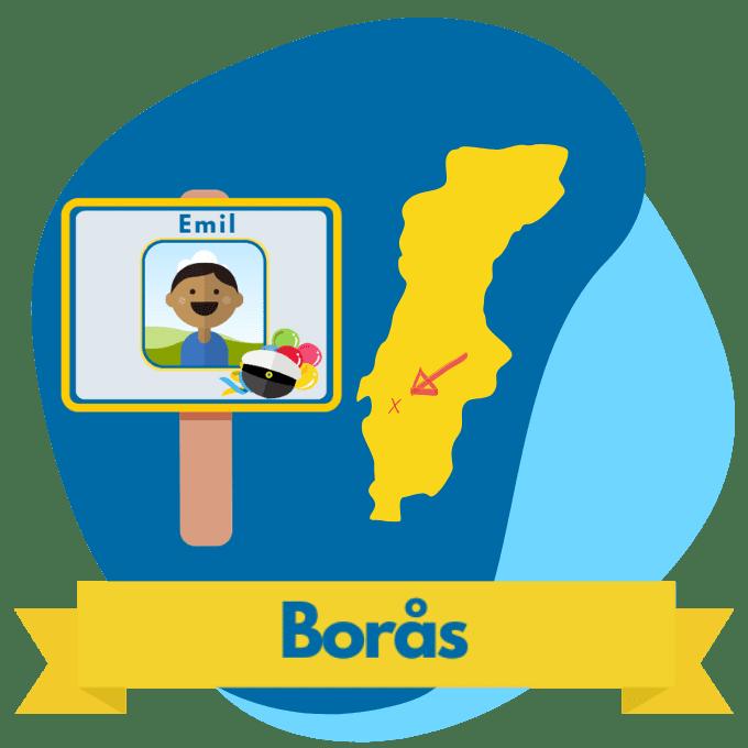 Borås studentplakat