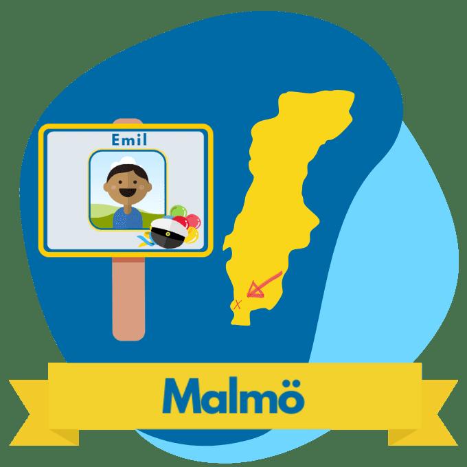 Malmö studentplakat