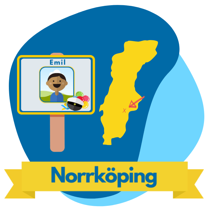 Norrköping studentplakat
