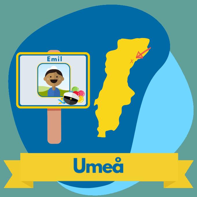 Umeå studentplakat