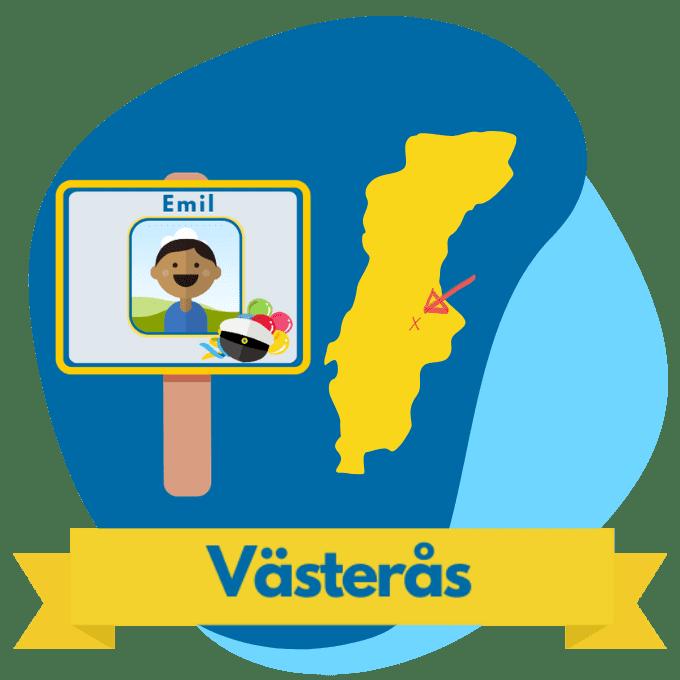 Västerås studentplakat